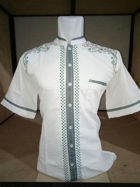 Baju Koko Al Luthfi Bm Al 26 baju koko al luthfi tangan pendek ah 001 al luthfi