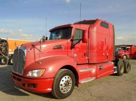 kenworth trucks for sale in houston tx 2012 kenworth t660 sleeper truck for sale 603 887 miles