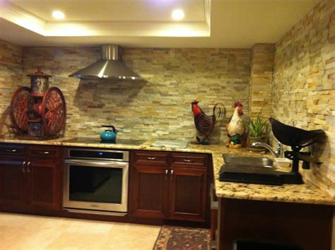 superior home design inc stacked stone kitchen with driftwood kitchen modern and