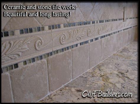 ceramic tile for kitchen backsplash 322 home pinterest ceramic and stone backsplash kitchen jpg 976 215 732 pixels