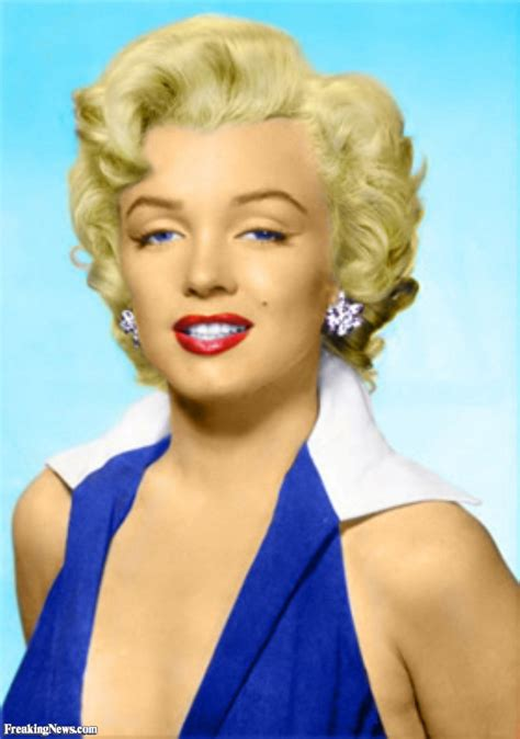 color pictures marilyn in color pictures