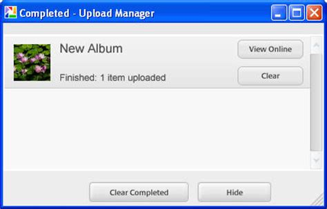 how do i create a web album in picasa? » images » windows