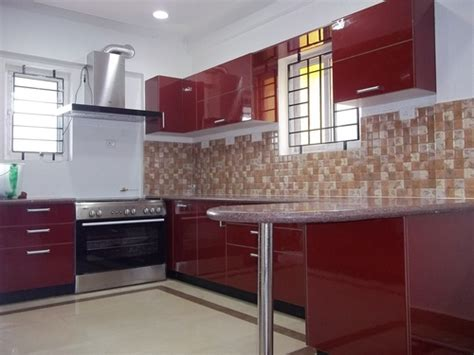 Modular Kitchen Designs India Modular U Shaped Kitchen Designs For Indian House With An