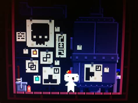 fez boiler room fez what s the secret of the boiler technician room in the beginning arqade