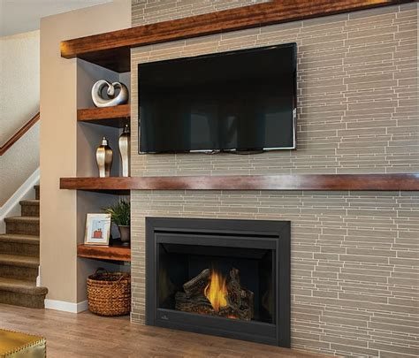 Napoleon Gas Fireplaces Reviews by Napoleon Ascent 46 B46ntr Direct Vent Fireplace