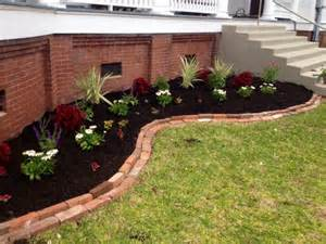 landscaping ideas with black mulch home design and