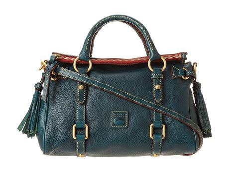 Dooney Bourke Ebelle5 Designer Dooney And Bourke Mini Handbag And Organizer Giveaway by Dooney Bourke Florentine Mini Satchel In Green Teal F13