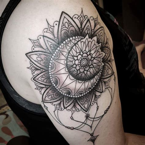 sun mandala tattoo sun moon mandala my newest by carrie