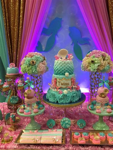 Mermaid Baby Shower Decorations by 17 Best Ideas About Mermaid Baby Showers On