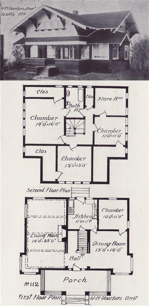 swiss chalet floor plans 1908 swiss chalet bungalow western home builder victor