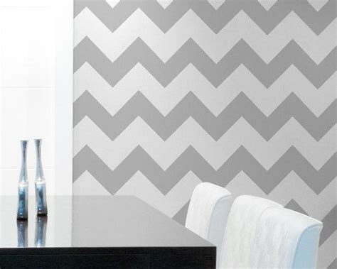 chevron wall stencil large stencil to paint by