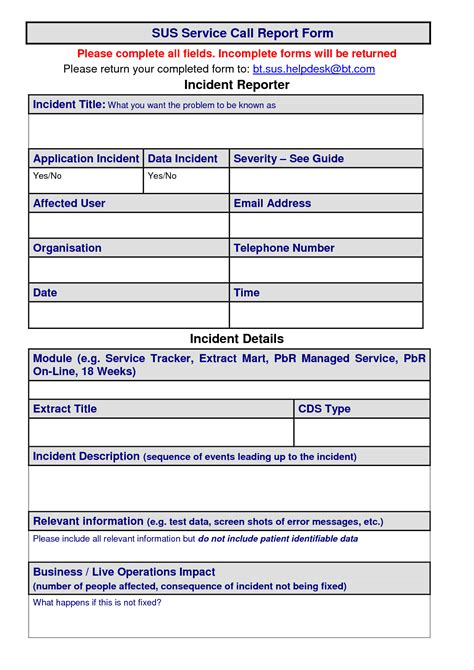 sales call report template forms form sample creative pictures and