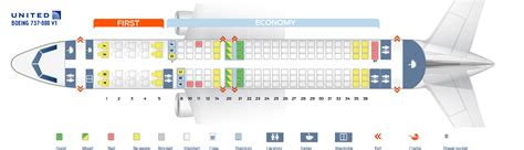 Airplane Floor Plan by Seat Map Boeing 737 800 Quot United Airlines Quot Best Seats In Plane