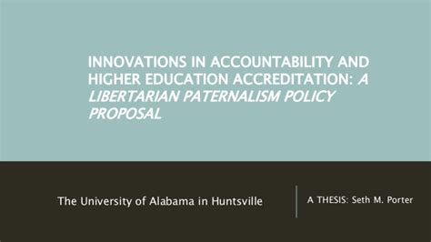 thesis about higher education thesis innovations in accountability and higher education