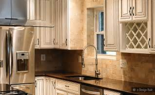 tile stone subway kitchen backsplash