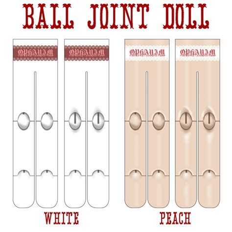 jointed doll joints special note about these due to the differences between