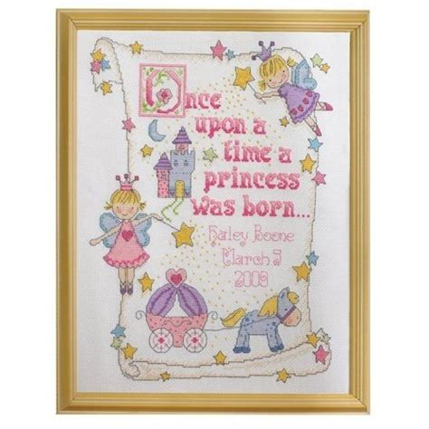 Cross Stitch Birth Records Baby Birth Record Cross Stitch Sler Elise Hartzell