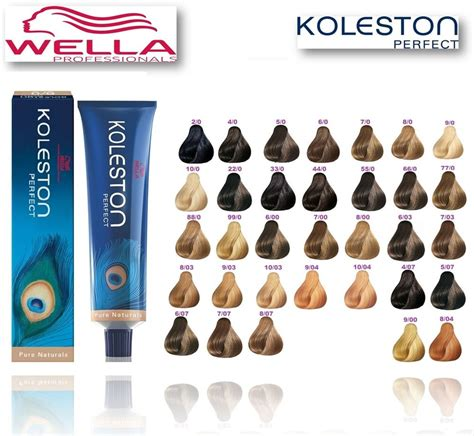 wella hair color wella koleston 100 genuine naturals