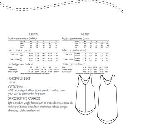 pattern review eucalypt tank megan nielsen mn2101 eucalypt tank dress