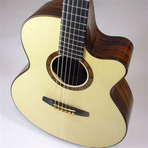 Handmade Custom Guitars - handmade blanchard quot tamarack quot acoustic guitar by