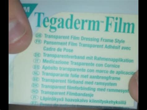 tattoo aftercare tegaderm nexcare tegaderm transparent dressing application and