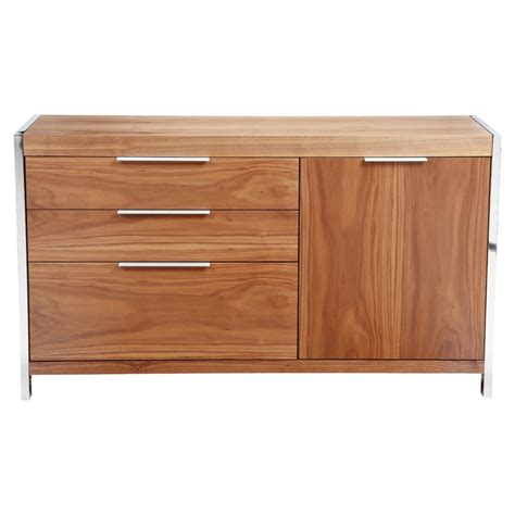 Longch Neo Small 1 neo small sideboard 3 drawers 1 door walnut dcg stores