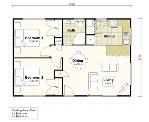 Home Plan Investor Homes Plan Ih60a