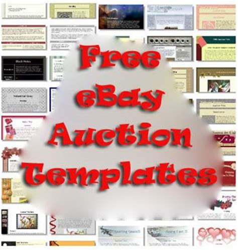 7 Great Sites To Get Beautiful Free Ebay Auction Templates Web Cool Tips Free Ebay Html Templates