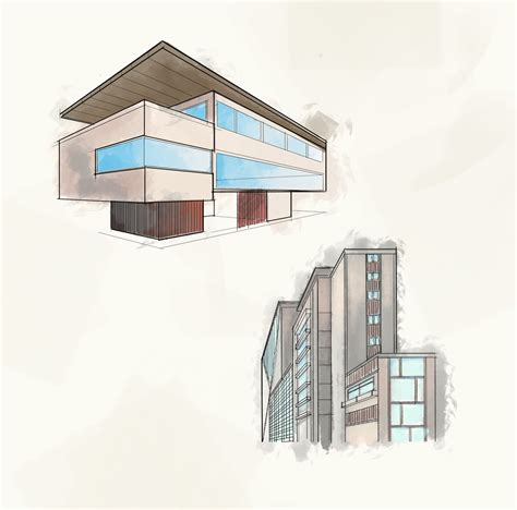 how to draw architectural