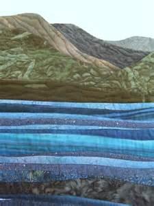 Landscape Quilting Material 280 Best Images About Landscape Quilts On