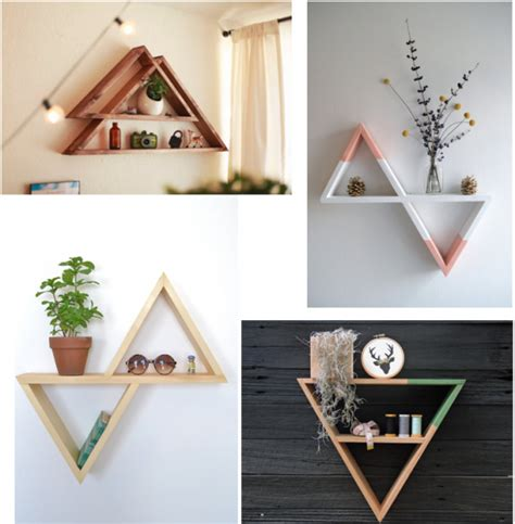 etagere diy diy 233 tag 232 re triangle d 233 co clem around the corner