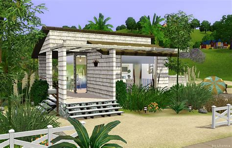 small beach house mod the sims beach cabin small beach house for single