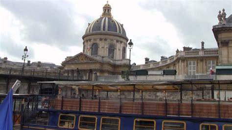 boat tour of paris paris france boat tour youtube