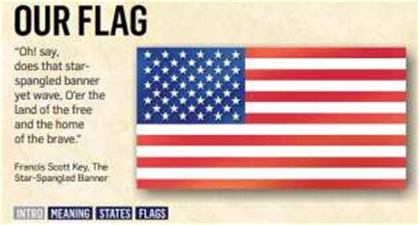 american flag color meanings flag day esl resources