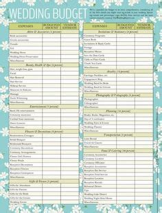 Wedding Budget For 70 Guests by Printable Wedding Planning Checklist For Diy Brides