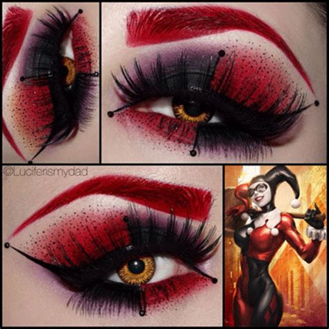 comics inspired eye make up alldaychic