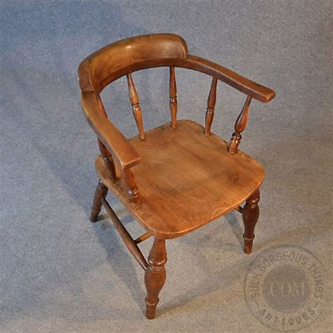 Antique Captains Chair by Antique Smokers Bow Armchair Country Elm Captains