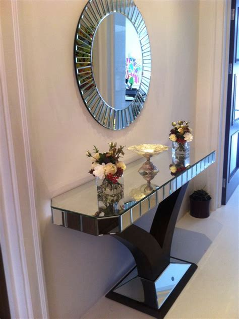 Hallway Table With Mirror 10 Best Quartz Console Mirror Customer Photos Images On Pinterest Console Console Tables