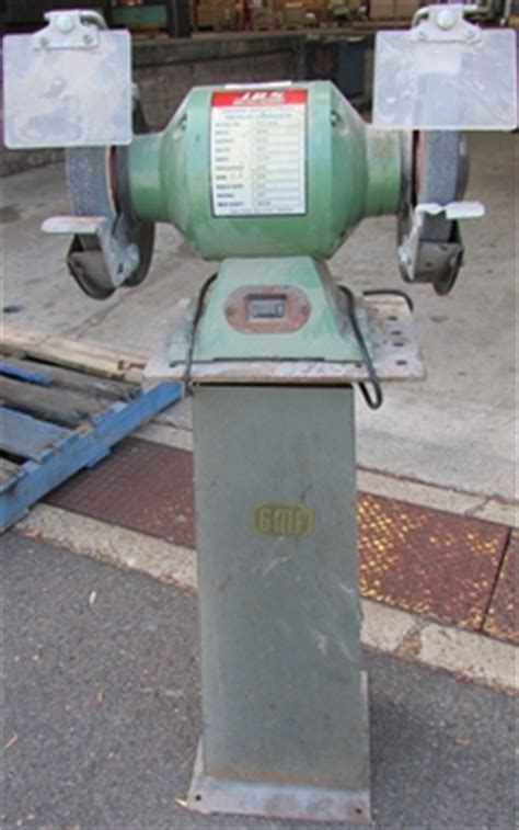 gmf bench grinder 8 inch heavy duty bench grinder gmf mark 5 3 phase