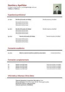 formatos de curriculum vitae 2014 plantilla curriculumvitae newhairstylesformen2014 com