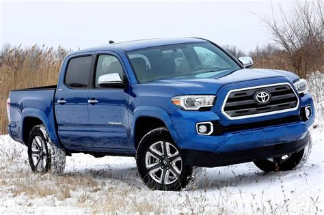 new toyota truck new 2016 toyota tacoma is primed for mid size truck war