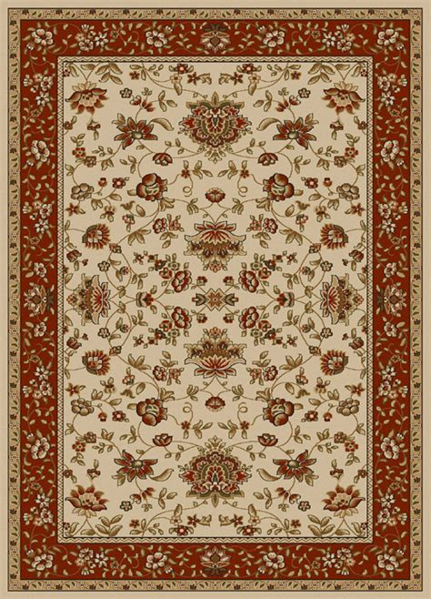 6x8 Area Rugs 6x8 Radici Traditional Italian Border 1597 Area Rug Approx 5 5 X 7 7 Ebay