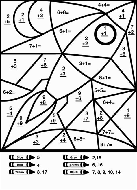 summer math coloring pages math coloring sheet coloring pages pinterest math