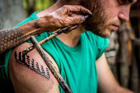 tribal tattoo kalinga whang od luzon island philippines traditional