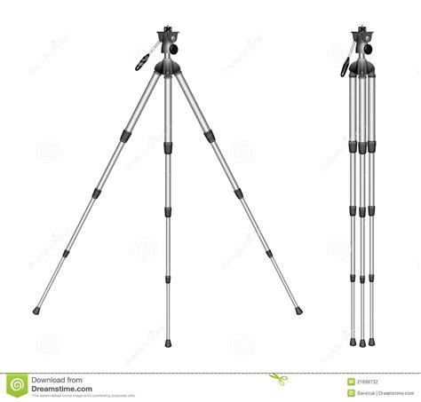 Tripod Background tripod on a white background stock photography image 21698732