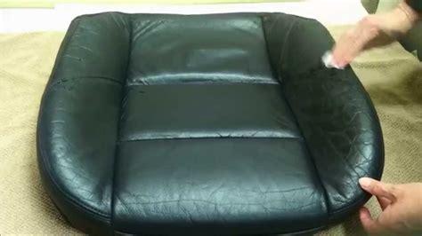 vinyl couch repair 187 magic mender leather and vinyl repair kit demonstration