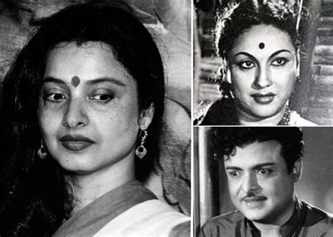 telugu actress pushpavalli rekha was born out of wedlock to tamil superstar gemini