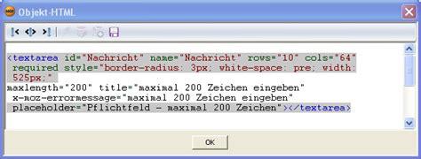 html textarea pattern tutorial swissknife for nof formular in html5