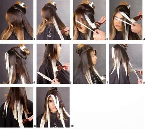step by step for bob ombre t 233 cnica ombre balayage paso a paso paperblog