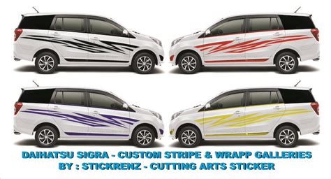 Stiker Sigra 91 best images about cutting arts sticker concept design on custom stickers honda
